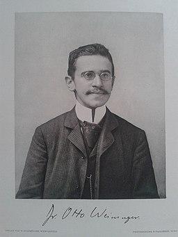 Otto Weininger 1903 - Heliogravüre Paulussen