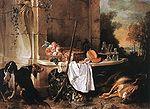Oudry, Jean-Baptiste - Dead Wolf - 1721.jpg