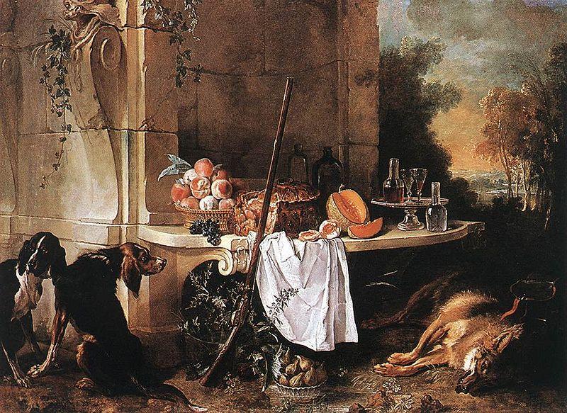 File:Oudry, Jean-Baptiste - Dead Wolf - 1721.jpg