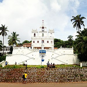 Our Lady of the Immaculate Conception Church, Goa - Image: Our Lady of the Immaculate Conception Church, Goa