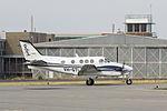 Oxford Aviation Academy (VH-GTI) Beechcraft C90GTi King Air at Wagga Wagga Airport.jpg