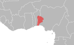 Oyo Empire at its furthest extent