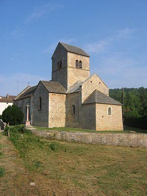 Ozenay - Image: Ozenay church