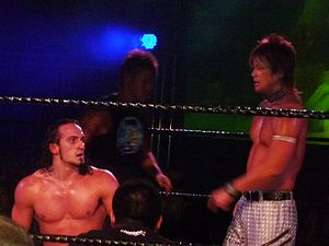 BxB Hulk - Hulk (right) with his World-1 stable-mate PAC (left) in November 2009.