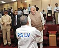 PM Modi at the the successful launch of PSLV-C23 in Sriharikota.jpg