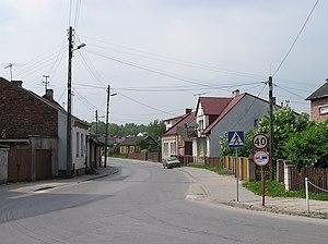 Wąchock - Wąchock streets