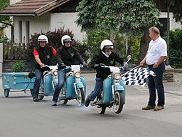 PUCH DS 50 Rennen in Weer, Tyrol 05