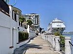 Pacific Dawn (ship) at Portside Wharf at Hamilton, Queensland 05.jpg