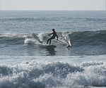 Paddle surfing 9 2008.jpg