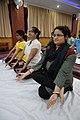 Padmasana - International Day of Yoga Celebration - NCSM - Kolkata 2015-06-21 7414.JPG