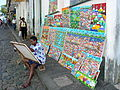 Painter Displays His Wares in the Streets of Salvador - Brazil.jpg