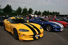 Dodge Viper Gts Which Was Introduced As A New Model For The Second Generation Of