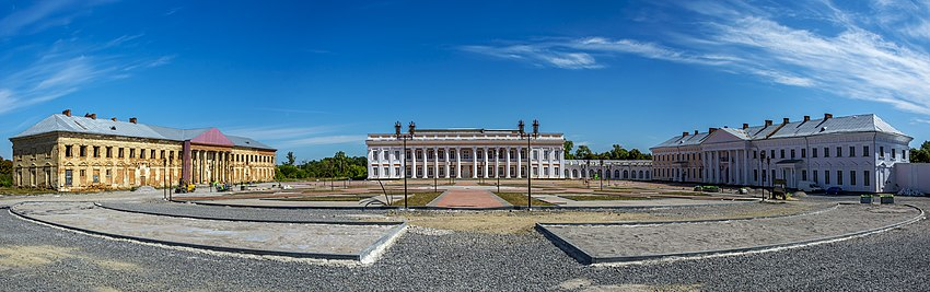 Комплекс дворца Потоцких (реставрация)