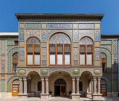 Le palais du Golestan, à Téhéran. (définition réelle 5915×5049)