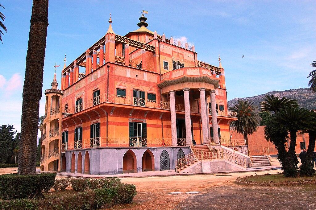 Palais chinois ou Palazzo Cinese à Palerme - Photo de tato grasso