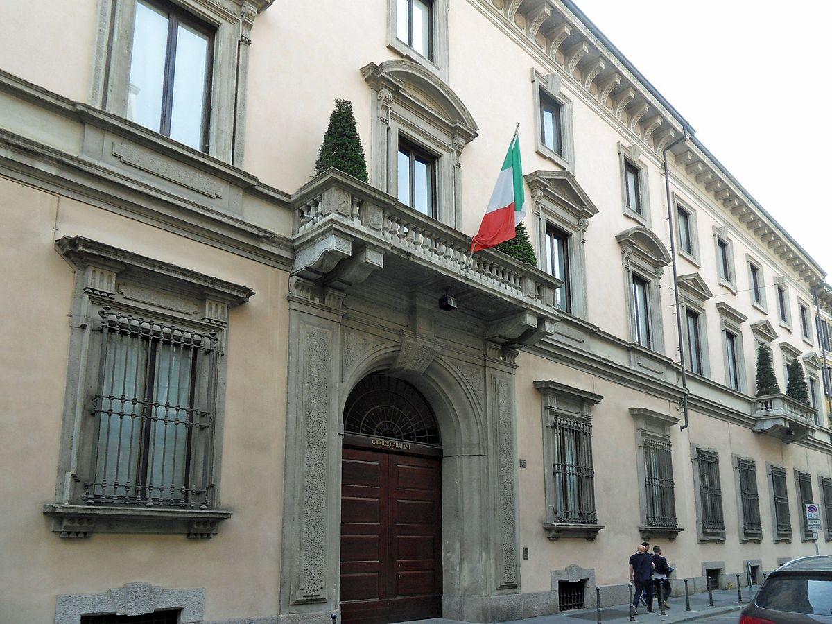 Palazzo orsini milano wikipedia for Giorgio armani architetto