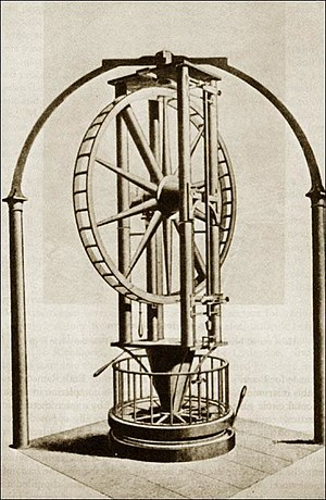 Jesse Ramsden - The 5-foot diameter Palermo circle manufactured by Jesse Ramsden to measure apparent positions of astronomical objects.