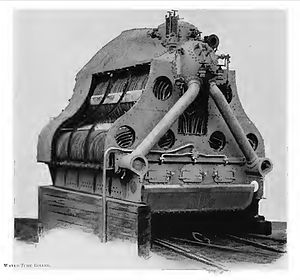 Palmers Shipbuilding and Iron Company - A Reed water tube boiler built by Palmers, as used in their torpedo boat destroyers