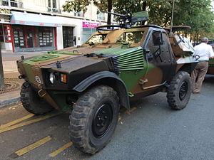 Panhard VBL (Vèhicule Blindé Legér), French army licence registration '6924 0051' pic1.JPG