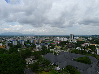 Kuching - Panorama of Kuching City.