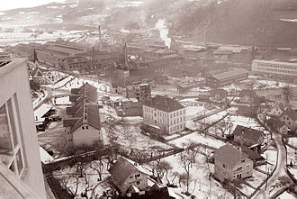Carinthia (Slovenia) - Ravne steelworks, 1960