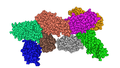 Panton-Valentine Leucocidin S Component From Staphylococcus Aureus MMDB ID 29003 PDB ID 1T5R.png