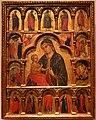 Paolo veronese (ambito), madonna col bambino e santi, 1350 ca.jpg