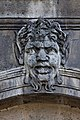 Paris - Les Invalides - Façade nord - Mascarons - 007.jpg