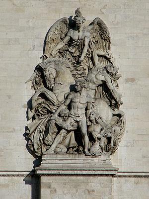 Antoine Étex - Image: Paris Arc de Triomphe 03
