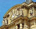 Paris Palais du Luxembourg façade south 20110506 clock.jpg