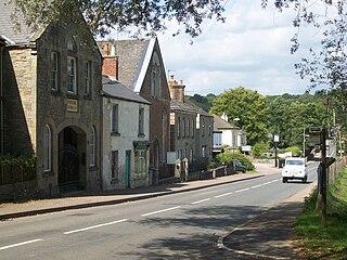 Parkend Human settlement in England