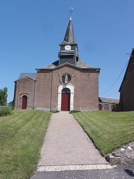 Parpeville (Aisne) église