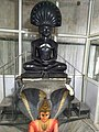 Parshvanath with Dharanendra - Trilok Tirth Dham.jpg