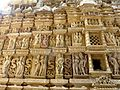 Parshwanath Temple Eastern Group of Temples Khajuraho India - panoramio (2).jpg