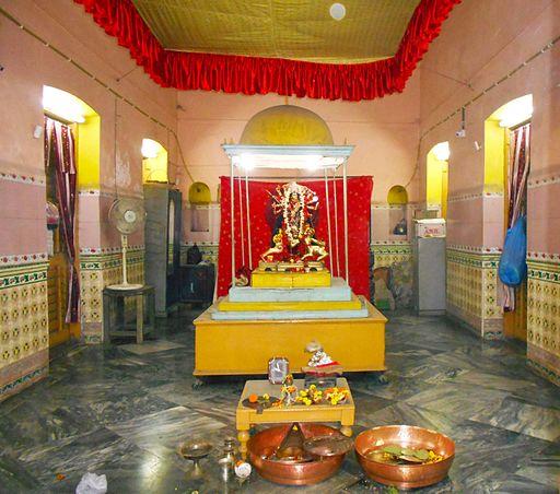Patit Paboni (Goddess Durga) Temple - Deity Goddess Durga