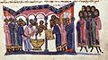 Patriarch Nicholas Mystikos baptizes Constantine VII Porphyrogennetos.jpg
