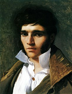 <i>Portrait of Paul Lemoyne</i> painting by Jean-Auguste-Dominique Ingres