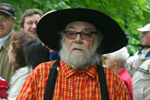 Paul McCarthy - McCarthy at the Westernparade in Munich, 2005