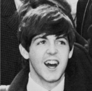 Photograph of Paul McCartney as The Beatles ar...