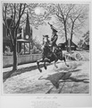 Paul Revere's Ride. 1775. Copy of illustration by Modern Enterprises, circa 1942., 1942 - 1946 - NARA - 535723.tif