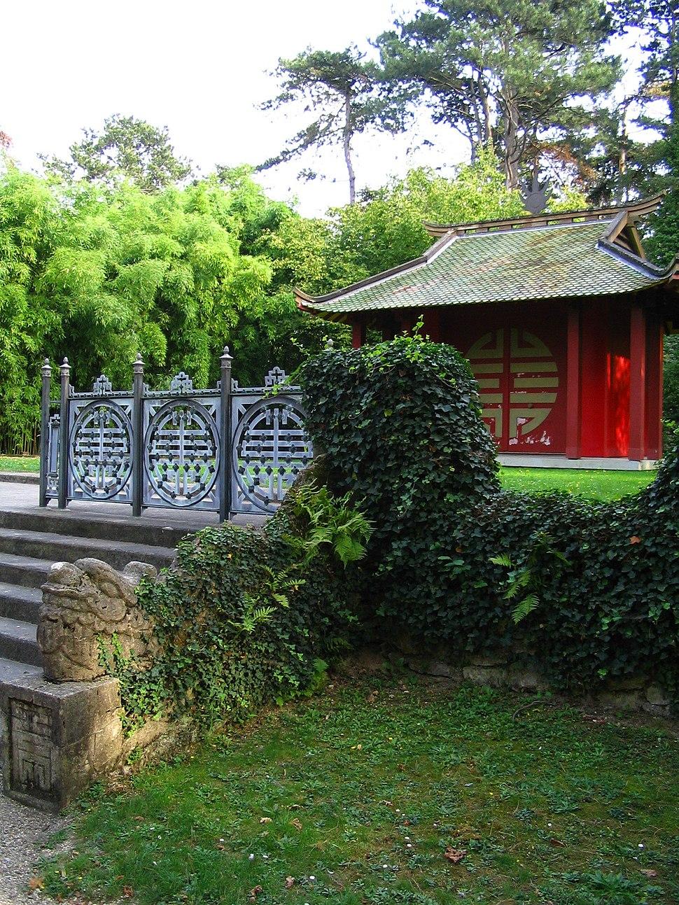 Bois de vincennes howling pixel - Pavillon de jardin ...