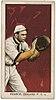 Pearce, Oakland Team, baseball card portrait LCCN2007685572.jpg