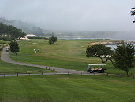 Golfbaan van de Pebble Beach Golf Links