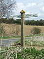 Peddars Way sign - geograph.org.uk - 763154.jpg