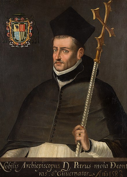 Pedro Moya de Contreras, former archbishop of Mexico, President of the Council of the Indies PedroMoyaContreras.jpg