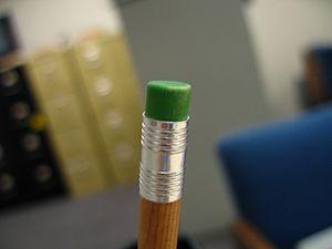 Eraser - A pencil eraser