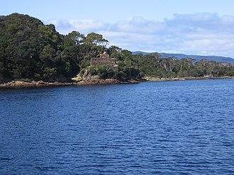 Macquarie Harbour Penal Station - Image: Penitentiary ruin on Sarah Island