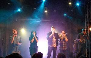 Pentatonix - Pentatonix performing in Paris in 2013