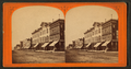 Peoria - block of buildings opposite west side of courthouse square, by W. Hebden.png