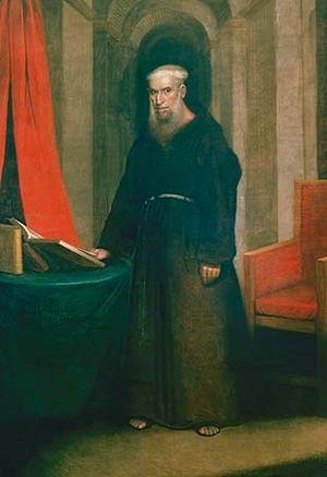 Antonio de Sedella - Père Antoine (Padre Antonio de Sedella) at Age Seventy-Four, by Edmund Brewster, New Orleans, 1822